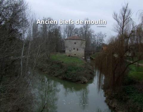 Anciens biefs de moulin